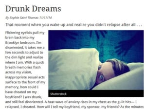 An Article of Drunk Dreams
