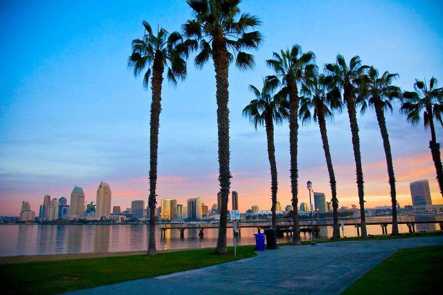 San Diego From Ferry Landing