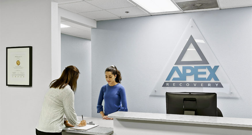 San Diego Apex Recovery Rehab for Drug and Alcohol Addiction Front Desk